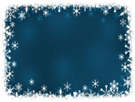 Blue Frame Holiday Template Backgrounds