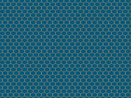 Blue Hexagon Honeycomb Backgrounds