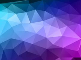 Blue Polygon Vector Backgrounds