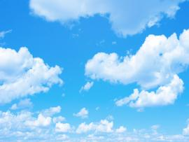 Blue Sky With A Tiny Clouds  QLA Consulting Clip Art Backgrounds