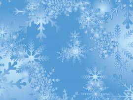 Blue Snowflake Quality Backgrounds