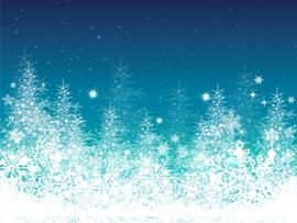 Blue Winter Christmas Tree Holiday Quality Backgrounds