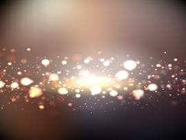 Bokeh with Golden Lights Backgrounds