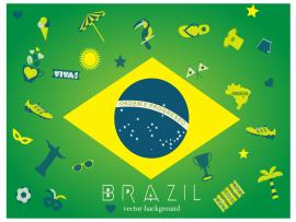 Brazil Slides Backgrounds