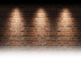 Brick Wall Presentation Backgrounds
