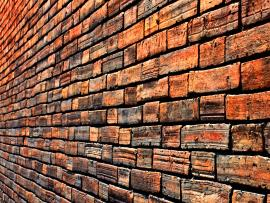 Brick Wall Slides Backgrounds