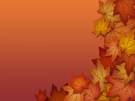 Brown Leaf Border Picture Backgrounds
