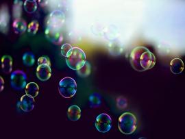 Bubbles Image Presentation Backgrounds