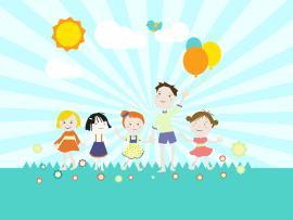 Children Kids Slides Backgrounds