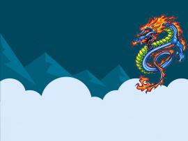 Chinese Dragon Clip Art Backgrounds