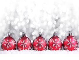 Christmas Ball Quality Backgrounds