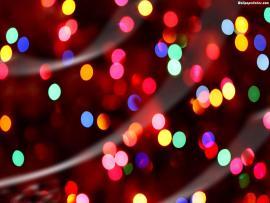 Christmas Lights Art Backgrounds