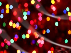 Christmas Lights Frame Backgrounds
