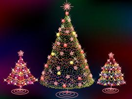 Christmas Lights Template Backgrounds