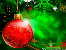 Christmas Ornament Clipart Backgrounds