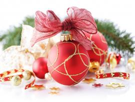 Christmas Ornaments Colored  Photo Backgrounds