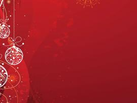 Christmas Red Ballss Holiday Images HTML   image Backgrounds