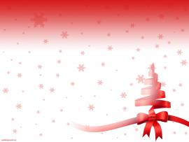 Christmas Red Tree Celebrations Download Backgrounds