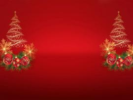 Christmas Tree Noel Template Backgrounds