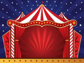 Circus Scene Backgrounds