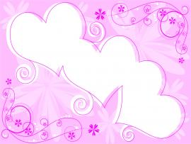 Color Pink Pink Loves Template Backgrounds