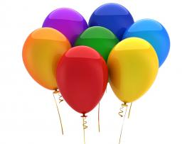 Colorful Balloons Backgrounds