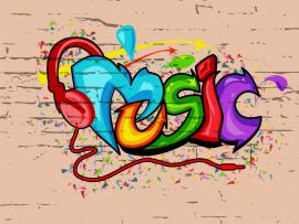 Colorful Music Texture Backgrounds