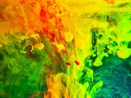 Colorful Paint Fumes Art By JennyMari   Backgrounds