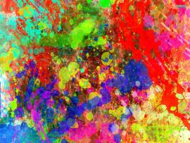 Colorful Paint Splatter Backgrounds