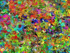 Colorful Psychedelic Clipart Backgrounds