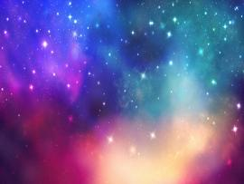 Colorful Stars Art Backgrounds