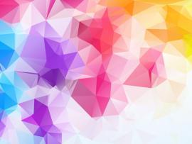 Colour Polygon 9 Backgrounds