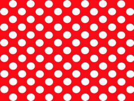 Comic Book Polka Dot Red and White Backgrounds