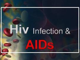 Comprehensive Presentation On HIVAIDS AuthorSTREAM Slides Backgrounds