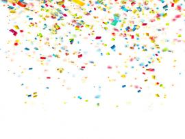 Confetti Vector Colorful Nfetti Holiday Vector   Clipart Backgrounds
