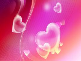 Cool Hearts Valentine Wedding Backgrounds