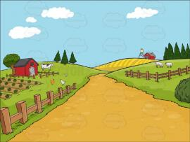 Country Farm Picture Backgrounds