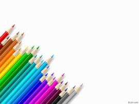 Crayon This Is A  That   Presentation Backgrounds