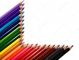 Crayons Gallery for Slide Backgrounds