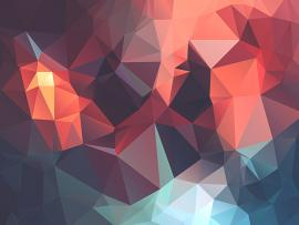 Creative Low Poly Geometric image Backgrounds
