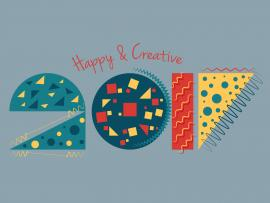Creative New Year 2017 Backgrounds