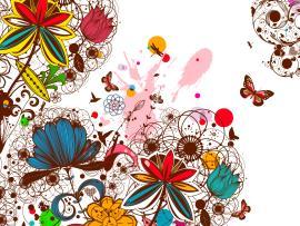 Creative Vintage Floral Backgrounds