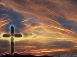 Cross Sky Christian Template Backgrounds