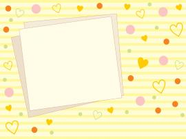 Cute Heart  PPT Backgrounds
