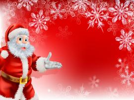 Cute Santa Merry Christmas image Backgrounds