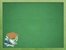 Cute Teacher School Blackboard Frame Backgrounds