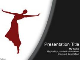 Dance For PowerPoint On Pinterest  Dancers Templates and Quality Backgrounds