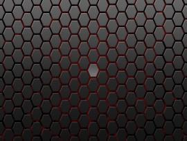 Dark Black Hexagon Clip Art Backgrounds