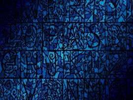 Dark Blue Stained Glass Backgrounds