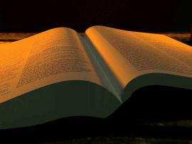 Dark Open Bible  Clip Art Backgrounds